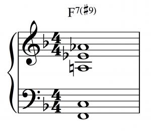playing jazz