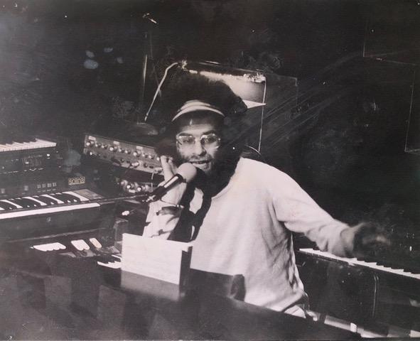 Paul Abrahams at the keyboards